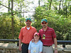 Augusta Masters 2007 : Cousin in law Joe and son Gavin invite Phillip and I to the first day practice round at Augusta.
